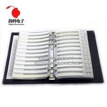 0805 1% SMD образец резистора книга 1/8 Вт 0R-10M 170valuesx25pcs = 4250 шт. Резистор Комплект 0R~ 10 м 0R 1R-10M