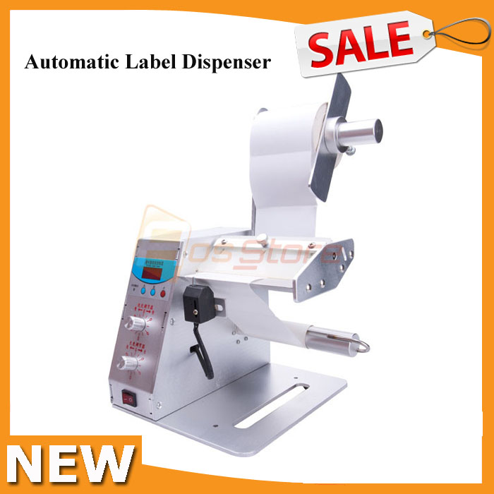 New Digital Automatic Label Dispenser Auto Stripper Separating Sticker Label Stripping Machine Seperating Sticker 110V 220V