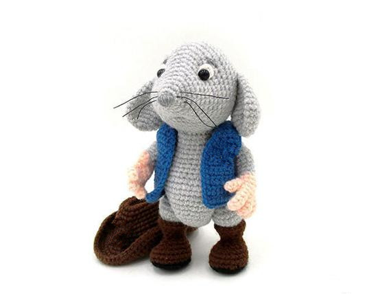 Amigurumi Cute Mouse Free Crochet Pattern - Amigurumi Free Patterns | 428x570