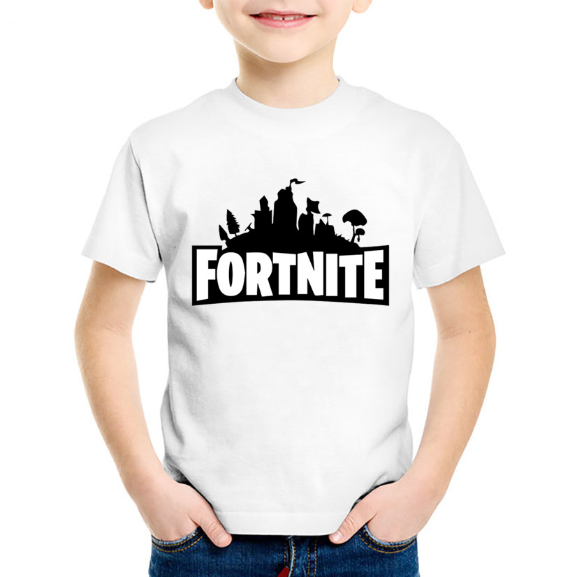Children Fortnite Funny T shirt Summer Kids Comfortable Short Sleeve T shirts Boys/Girls Tops Baby Casual Clothes,HKP2403 hot sale kids t shirts cartoon streetwear short sleeve casual o neck boys and girl t shirts tops funny children t shirt homme