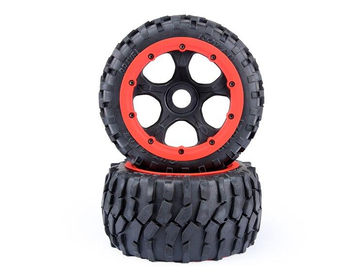 baja 5B gravel tire wheels rear set