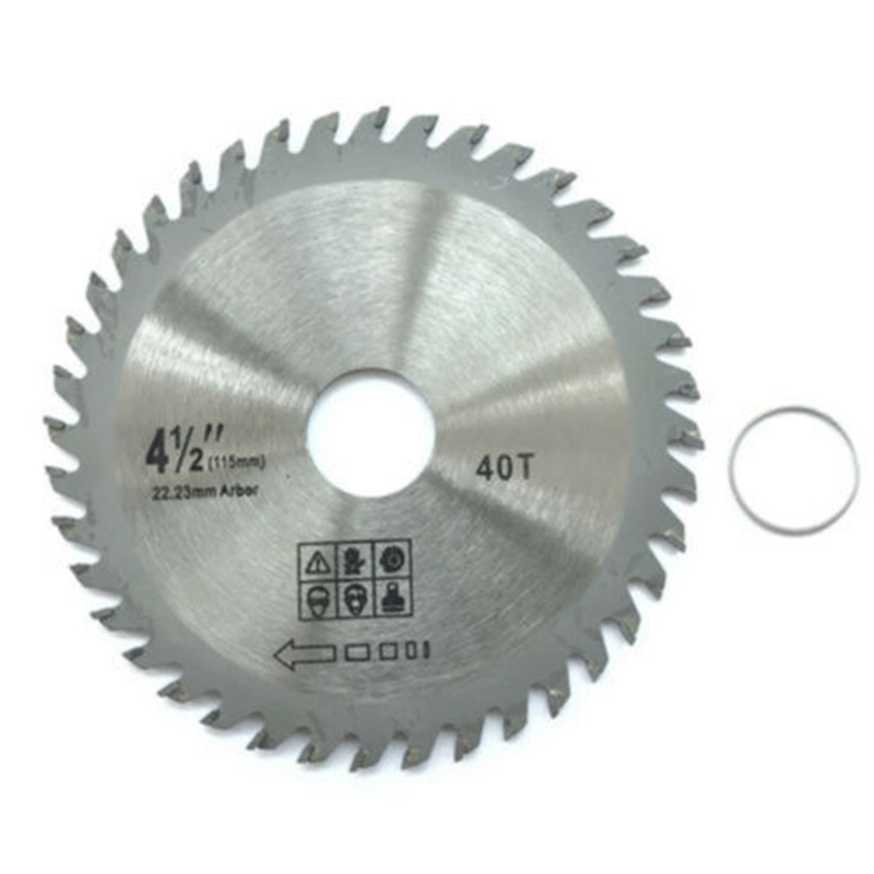 1pc 115/110mm 40T 11000rpm TCT Circular Saw Blade Wheel Discs Cutter Metal Plastic For Wood Carving Disc