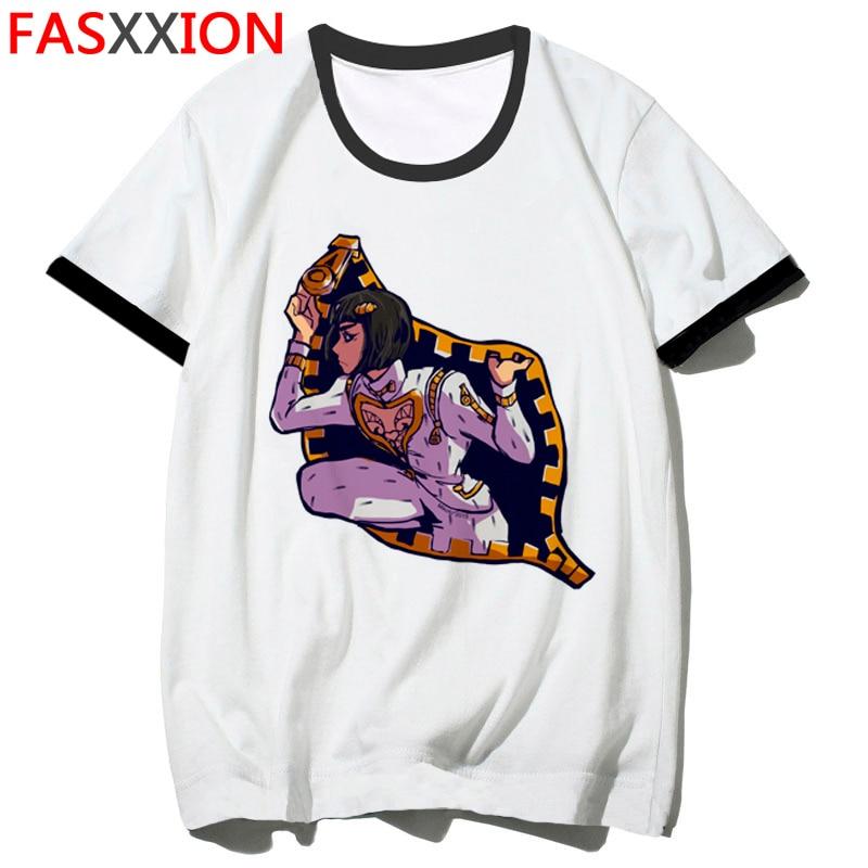 JoJo Bizarre Adventure Funny T-shirts For Man/woman Japan Anime Printed Tshirt Casual Jojo T Shirt Hip Hop Top Tees Male/female