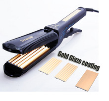 Sale W504 professional silver ionic hair straightener curling iron styler straightening irons styling tools