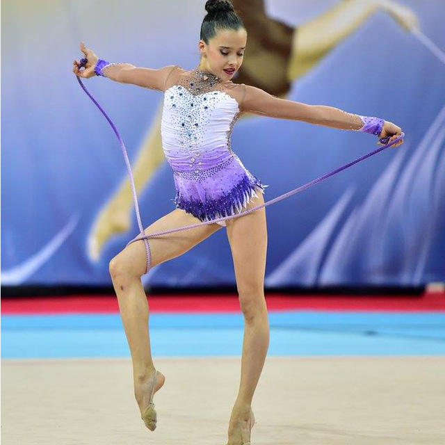 1d8e8325ee8c Custom Apparel Beautiful Rhythmic Gymnastics Leotards Rhythmic ...