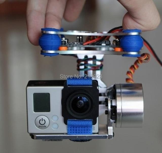Gopro Hero 3 Бесщеточный Камеры 2 оси Gimbal Mount Kit + 2208 70 Т Двигатели + КУП Контроллер для DJI Phantom Walkera QR X350