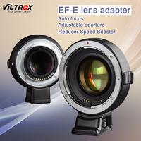 Viltrox EF-E Auto focus Reducer Speed Booster Lens Adapter For Canon EF Lens to Sony NEX-7 A6000 A9 A7RIII A7R A7 A7M II A65000