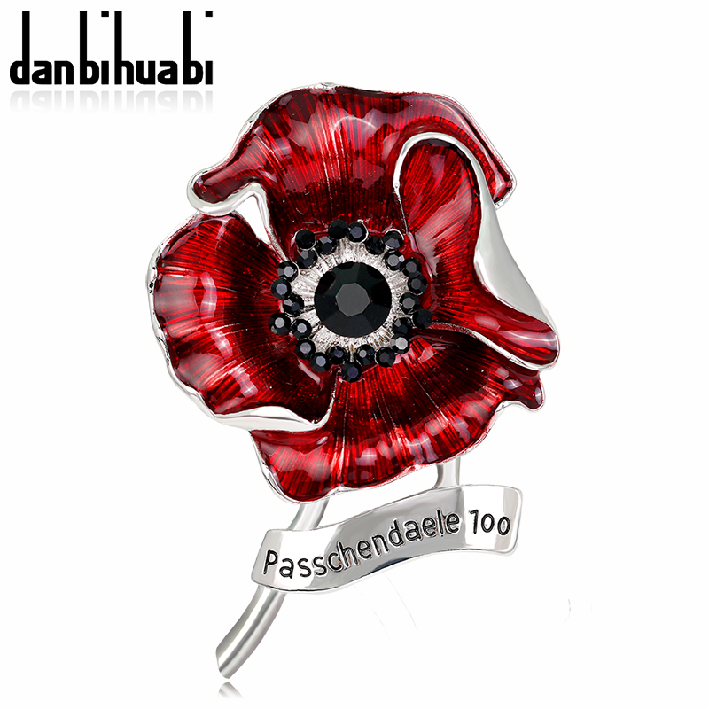US $47 78 |(12 pcs/lot )Free Cheap Wholesale Lot Very Beautiful Red Poppy  Brooch Pins UK Remembrance Day for women accessories-in Brooches from