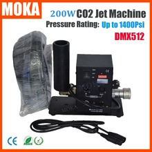 MOKA Máquina DMX512 Etapa luz vendedora Caliente de Un Solo tubo de Cañón CO2 Jet CO2 máquina de niebla máquina Crio Efecto