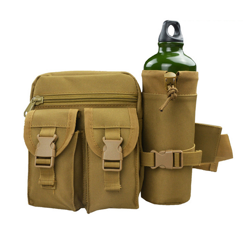 B62 Waterproof oblique camouflage bag riding a personal anti-theft small cross-bag outdoor sports running pockets(Without kettle