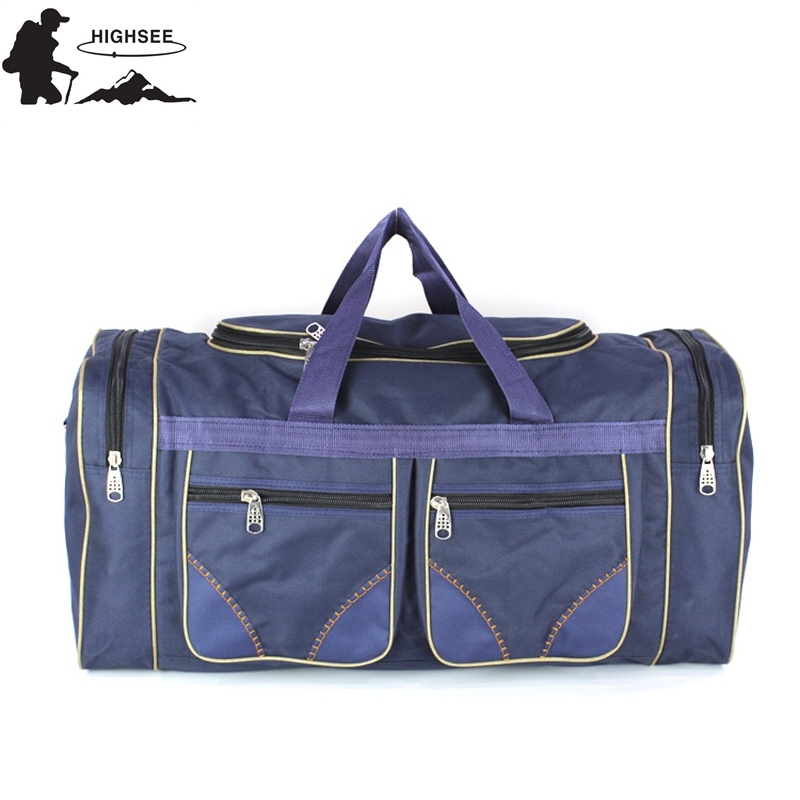 HIGHSEE Big Capacity Outdoor Sports Single Shoulder Fitness Bags Multifunction Travel Sport Bag Training Gym Bag for Men Women multifunction canvas sport bag training gym bag waterproof sports gym bag backpack for women fitness yoga travel luggage bags