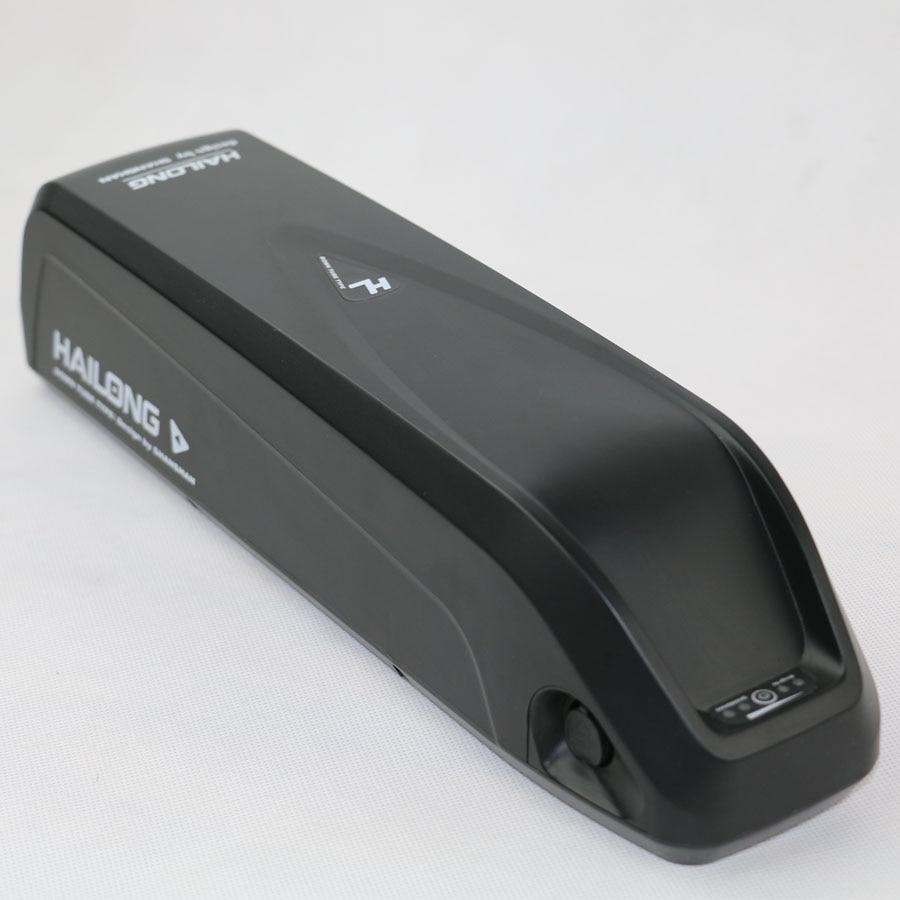Free shipping and duty Hailong down tube shark 48v 1000w ebike battery 48v 14ah lithiun ion battery