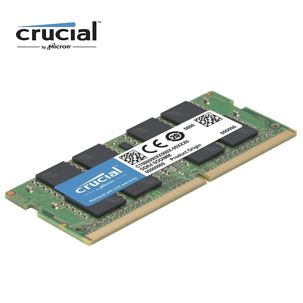Crucial DDR4 8GB 4GB 16G Laptop Ram Memory With 260 Pins Interface Type 1