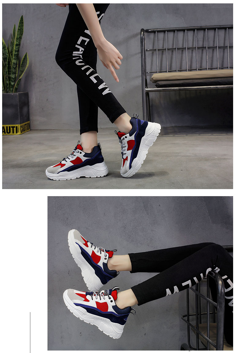 Buy Retro Basketball Shoes Platform Sneakers Casual Trainers on sale