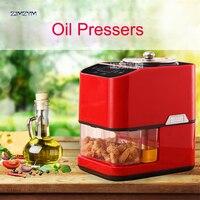 JZC 008 Oil presser Household Oil press machine for Peanut/walnuts/almonds with heating 300W Peanut Oil pressers Expeller 600W