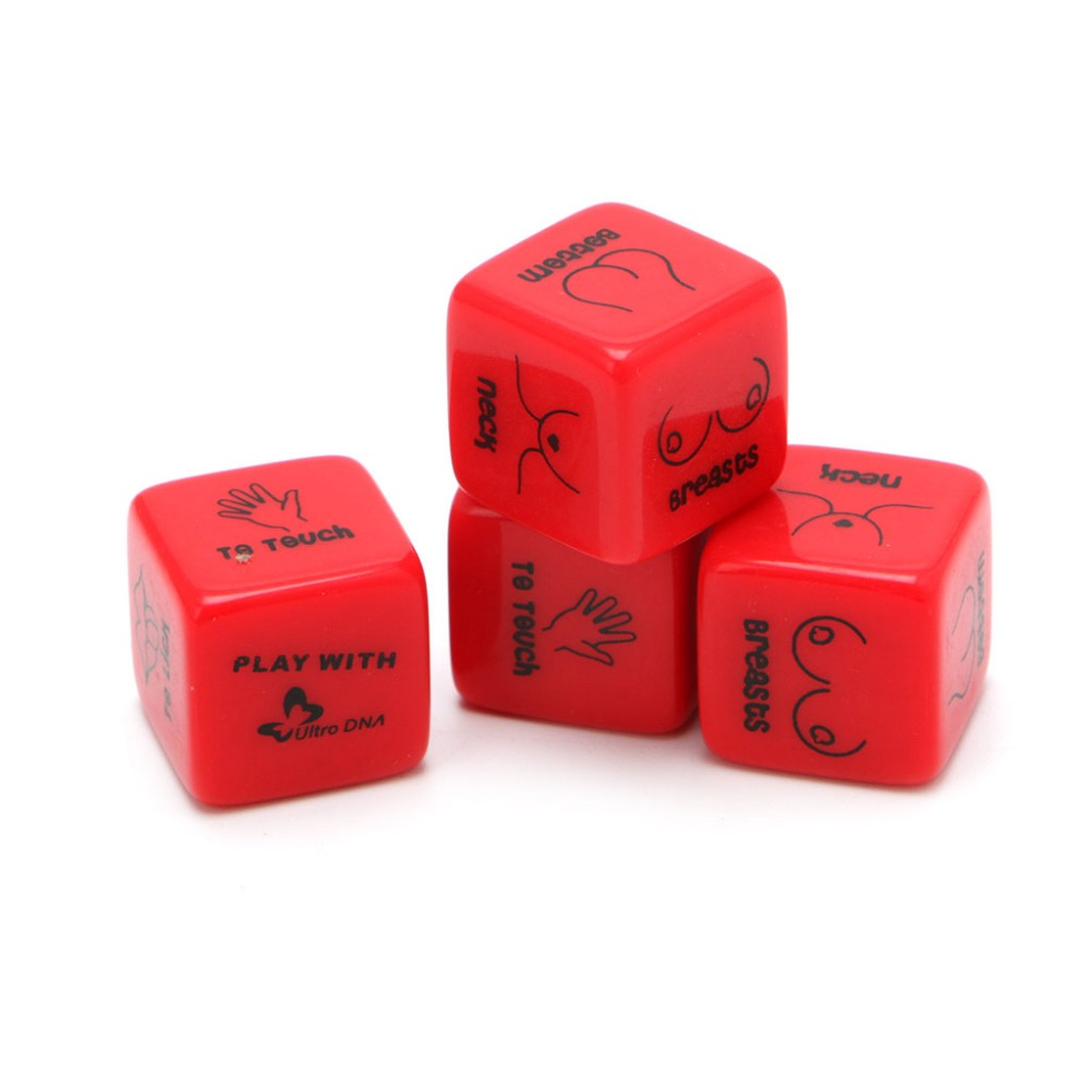 Love Dices Funny 12 Side Sex Position Dice Bachelor Party Adult Couple Lover Novelty Gift
