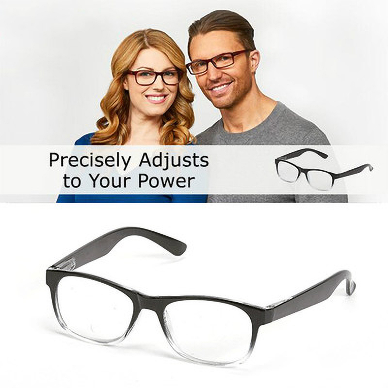 Focus Auto-Adjusting Reading Glasses Men Women One Power Readers Eyeglasses 0.5 1 1.5 2.0 2.5 Dropshipping