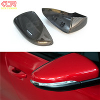 Full Replacement Carbon Fiber Car Side Mirror For 2011 On VW Scirocco Mirror Cover Sets