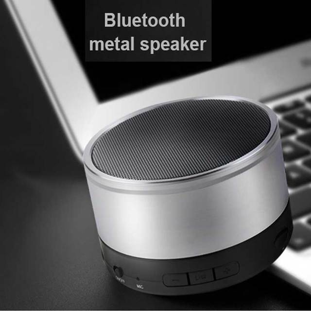2017 New High Quality Bluetooth metal Speaker Portable HIFI Bluetooth Speaker With Mic Big Bass For Mobile Phone Altavoz S200