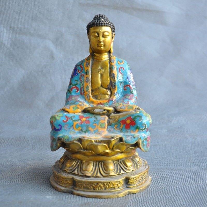 christmas 7 Tibet bronze Cloisonne Gilt Sakyamuni Amitabha Tathagata Rulai Buddha statue halloweenchristmas 7 Tibet bronze Cloisonne Gilt Sakyamuni Amitabha Tathagata Rulai Buddha statue halloween