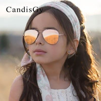 Малыш Солнцезащитные очки для женщин для мальчиков Обувь для девочек милый зеркало для Рамки UV400 Зеркало Пилот Модные очки Защита от солнца Очки Малый Размеры