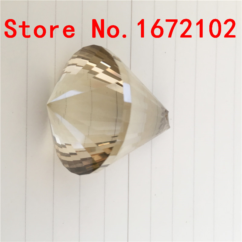 Free Shipping 6pcs/Lot 40mm Cognac Color Diamond Balls Crystal Chandelier Balls Crystal Lamp Balls Curtain Lamp Parts