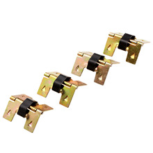 4Pcs 19x18mm Antique Gold Cabinet Furniture Hinges Wooden Gift Box Decorative Fitting for Hardware