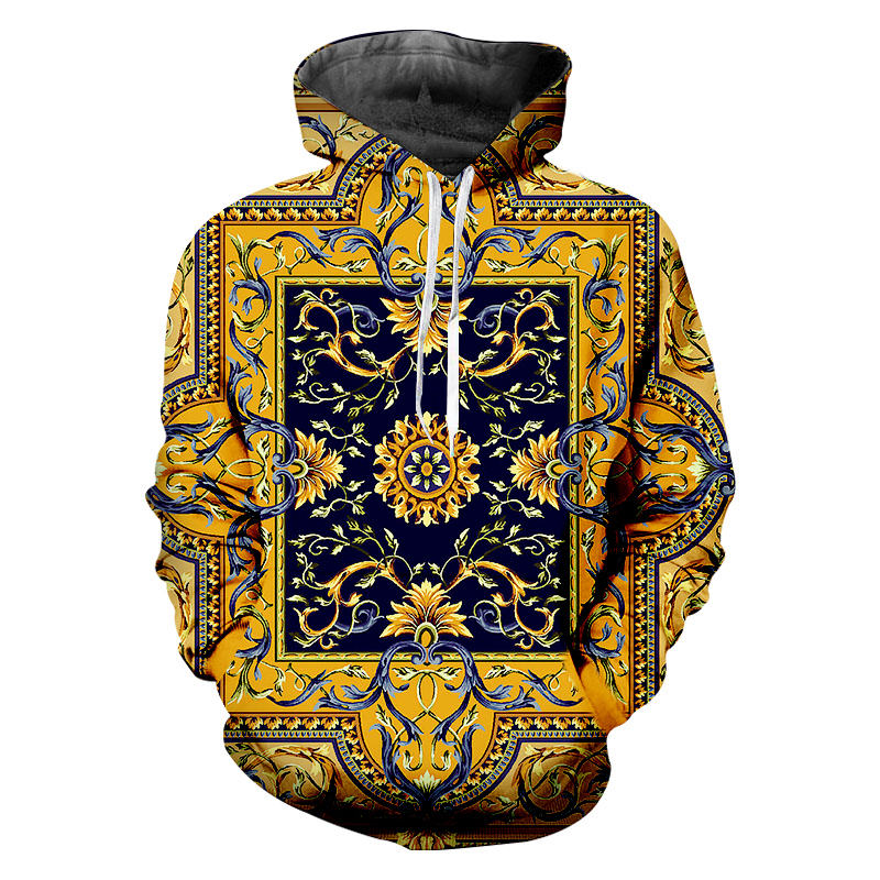 Unisex 3D Novelty Hoodies Graphic Art,Cartoon Flowers Hearts,Sweatshirts for Girls Men Clothing