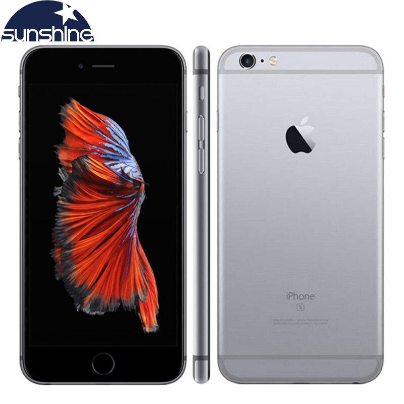 Оригинальное разблокирована Apple IPhone 6S мобильный телефон 4.7 ''IPS 12.0MP A9 Dual Core 2 ГБ Оперативная память 16/64 /128 ГБ Встроенная память 4 г LTE смартфон