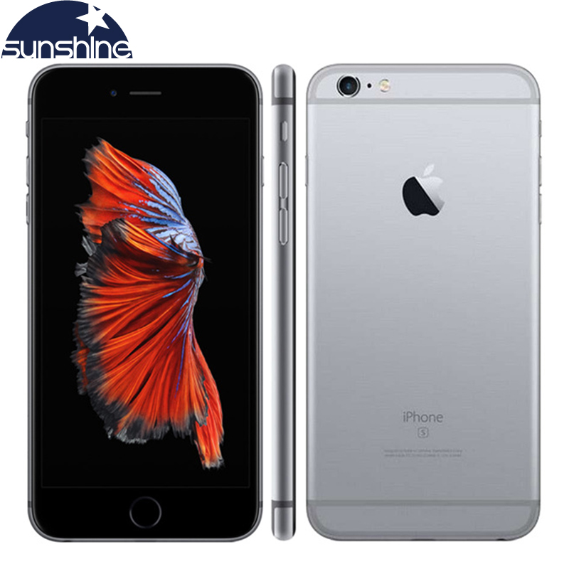 "מקורי נעולים Apple iPhone 6S טלפון נייד 4.7 ""שב""ס 12.0MP A9 ליבה כפולה 2GB RAM 16/64 / 128GB ROM 4G LTE Smartphone"