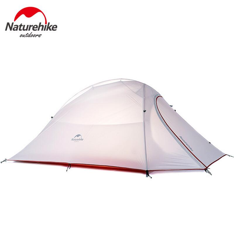 NatureHike Ultralight Outdoor Tent 1 2 3 Person Waterproof Camping Tent 4 Season Fishing Tourist Beach Winter Tents 20D Silicone naturehike outdoor camping 2 person tent 20d silicone ultralight 3 season tent double layer 2 people hiking fishing picnic tents