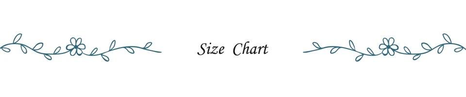 1 Size Chart