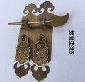 New antique Chinese style of Ming and qing classical furniture fittings bookcase wine pure copper handle
