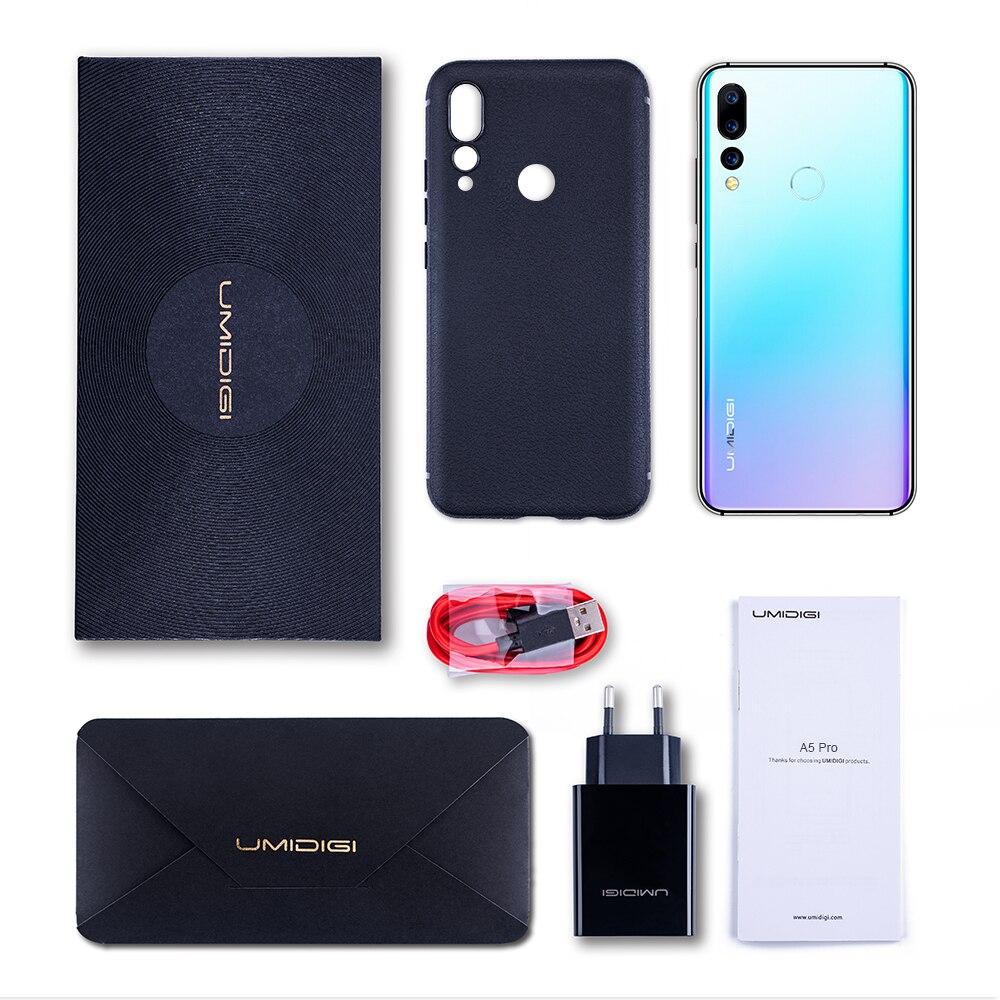 Мощный смартфон с тройной камерой UMIDIGI A5 PRO