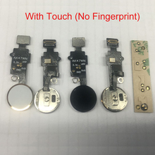 Home Button Flex Cable For iPhone 7 7G 7 Plus 8 8 Plus Home Button Menu Return Function with Touch Key Pad Replacement Parts цена