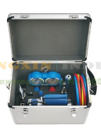 new arrived value 7in1 refrigeration repair tool set with aluminum alloy box in soldering. Black Bedroom Furniture Sets. Home Design Ideas