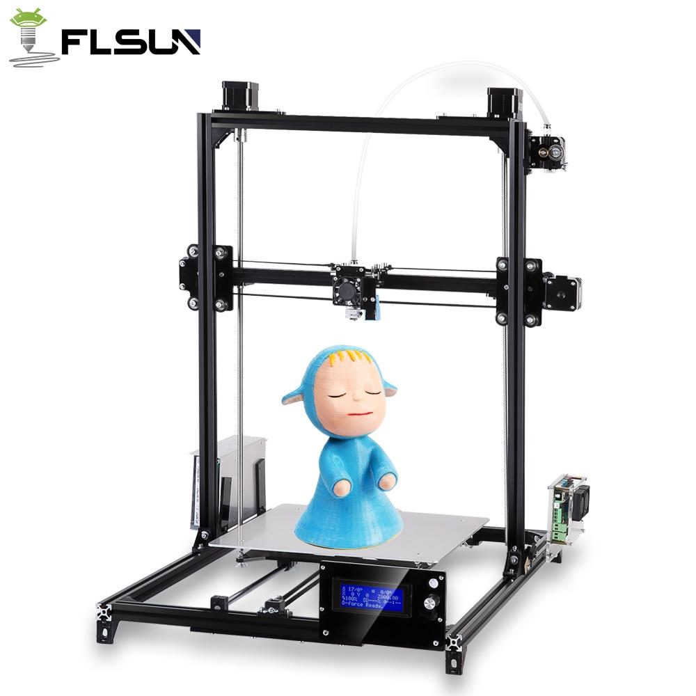 Trasporto libero dal Russo 3D stampante I3 Stampante Più Il Formato Autoleveling Una rolls filamento Regalo