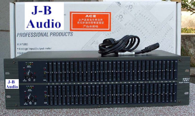 US $120 89 |Fedex and DHL shipping DBX1231 audio sound system Graphic  equalizer Dual Channel 31 Band Karaoke DBX 1231 Equalizer on Aliexpress com  |