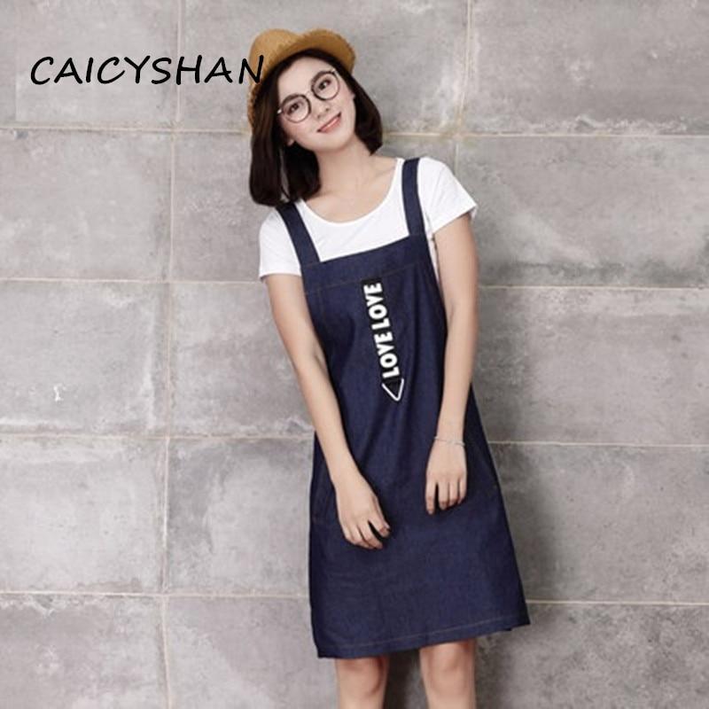 Nové letní ženy šaty Vestido Plus velikost štíhlý příležitostné tričko a šle vesty džíny šaty pro ženy velké džínové šaty dvoudílné