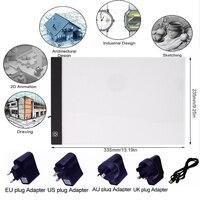 Light Pad Diamond Painting A4 LED Pad USB Cable Dimmable Ultra Thin Diamond Painting Led Light