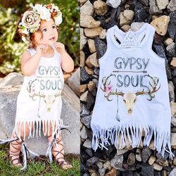 New white baby kids baby girls dress party fringe tassel white mini dress sundress sleeveless outfits.jpg 250x250