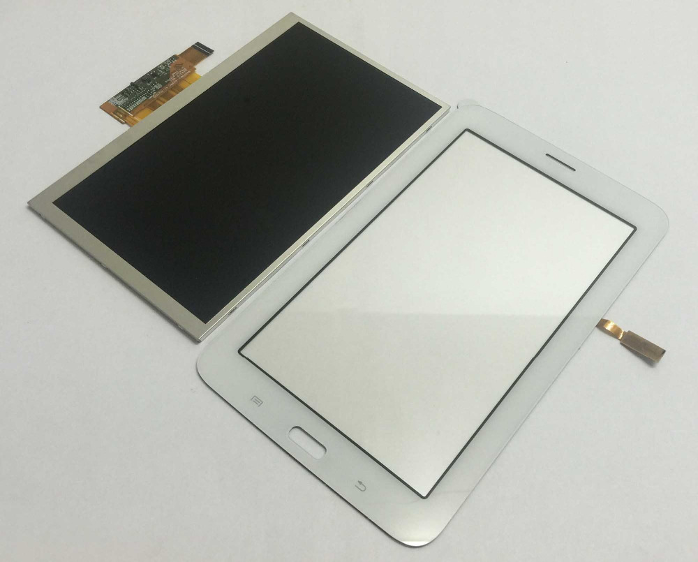 LCD Display Monitor Screen + Touch Screen Digitizer Panel Sensor Glass For Samsung T111 SM-T111 Galaxy Tab 3 Lite 7.0 3G free shipping touch screen with lcd display glass panel f501407vb f501407vd for china clone s5 i9600 sm g900f g900 smartphone