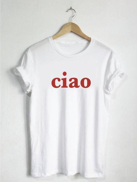 Hello Shirt TShirt Ciao...