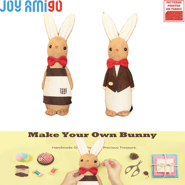 Make Your Own Soft Peter Bunny Sewing Kit Diy Plush Rabbit Present