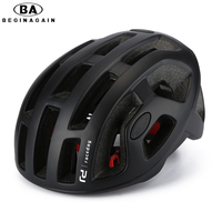 2016 Classic Matte Cycling Helmet Pneumatic Mens Bicycle Helmet Professional Mountain Helmet Racing Bike IN MOLD