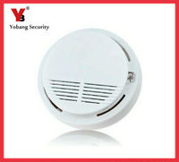 Wireless Smoke Detector High Sensitive Fire Alarm Sensor Monitor For Home Security Photoelectric Smoke Alarm