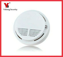 Yobang Security-Smoke Detector Fire Alarm Sensor Monitor for Home Security Photoelectric Smoke Alarm Independent Smoke Sensor