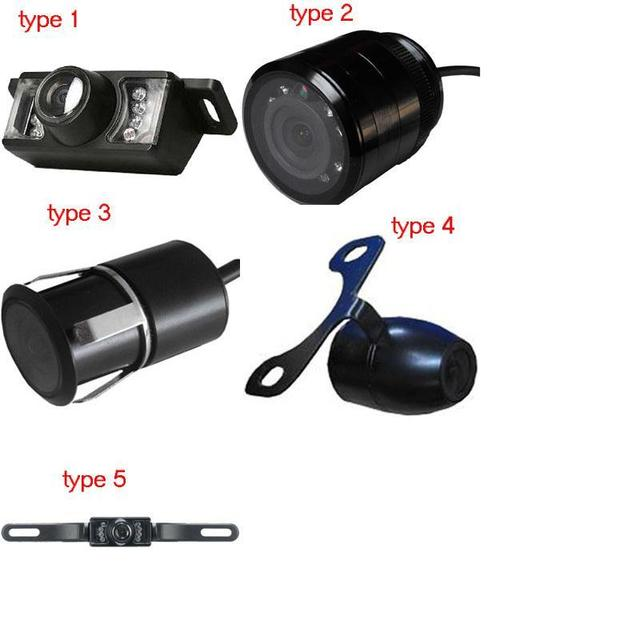 Wired  Waterproof Car Camera with night vision fucntion and Reversing Guard line