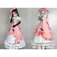 Kuroshitsuji Black Butler Ciel Phantomhive Dress Cosplay Costume Tailor made[CK553]