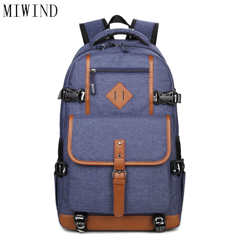 MIWINDStyle Oxford Backpack Men Dayback Backpack School Bag for Teenagers Boys Laptop Mochila Masculina Escolar TAL632MIWINDStyle Oxford Backpack Men Dayback Backpack School Bag for Teenagers Boys Laptop Mochila Masculina Escolar TAL632
